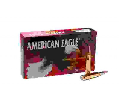 Патрон нарезной Federal American-Eagle 308win FMJ BT 9,7гр (150GR)