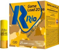 Патрон RIO Game Load C20 NEW кал. 20/70 дробь №3 (3.5 мм) навеска 25 г