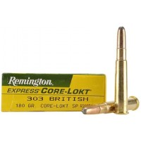 Патрон Remington кал.303 British пуля Core-Lokt Soft Point масса 11,7 грамм 180 гран